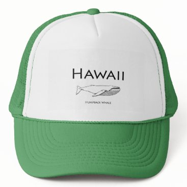 USA Themed Hawaii Humpback Whale Trucker Hat