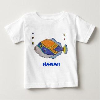 Hawaii humu fish shirt