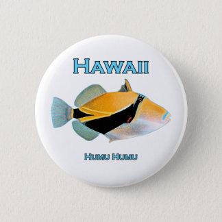 Hawaii Humu Humu Fish Button