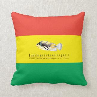 Hawaii Humuhumunukunukuapua'a Fish Throw Pillows