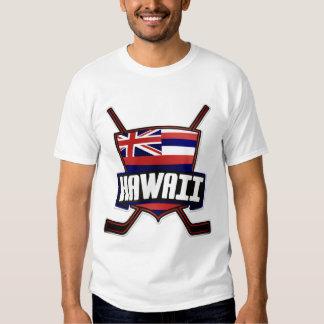 Hawaii Ice Hockey Flag T-shirt