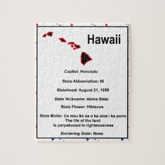 Hawaii Information Educational Puzzle