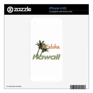 HAWAII iPhone 4 SKIN