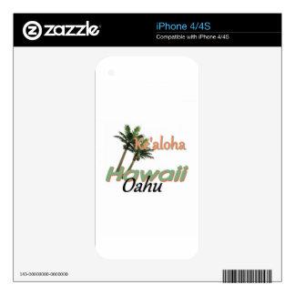 HAWAII iPhone 4S SKIN