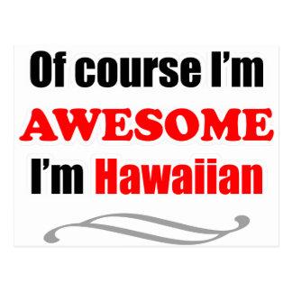 Hawaii Is Awesome Postcard