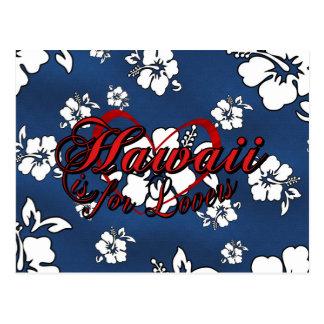 Hawaii is for Lovers Postcard