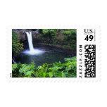 Hawaii, isla grande, Hilo, caídas del arco iris, Franqueo