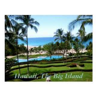Hawaii, isla grande postal
