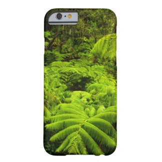 Hawaii, isla grande, verdor tropical enorme funda barely there iPhone 6