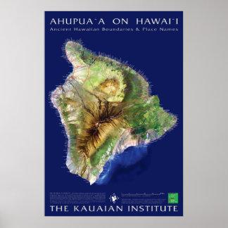 Hawaii Island Ahupuaa Poster