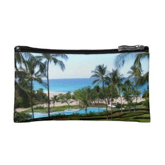 Hawaii Island Beach Cosmetic Bags