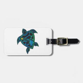 Hawaii Islands and Hawaii Turtle Bag Tag
