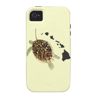 Hawaii Islands and Hawaii Turtle Case For The iPhone 4
