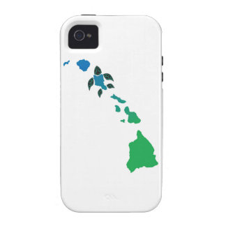 Hawaii Islands and Hawaii Turtle Vibe iPhone 4 Cover