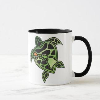 Hawaii Islands and Hawaii Turtle Mug