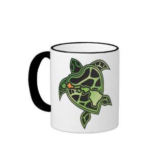 Hawaii Islands and Hawaii Turtle Ringer Mug