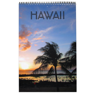 hawaii islands calendar
