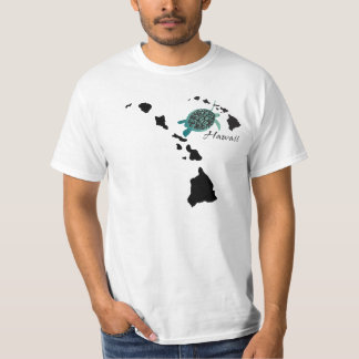 Hawaii Islands Chain - Hanauma Bay Oahu Turtle T-Shirt