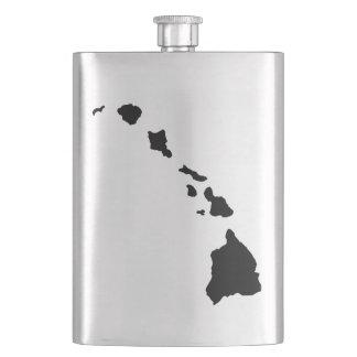 Hawaii Islands Flask
