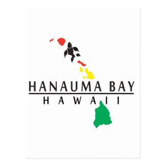 Hawaii Islands - Hanauma Bay Postcard