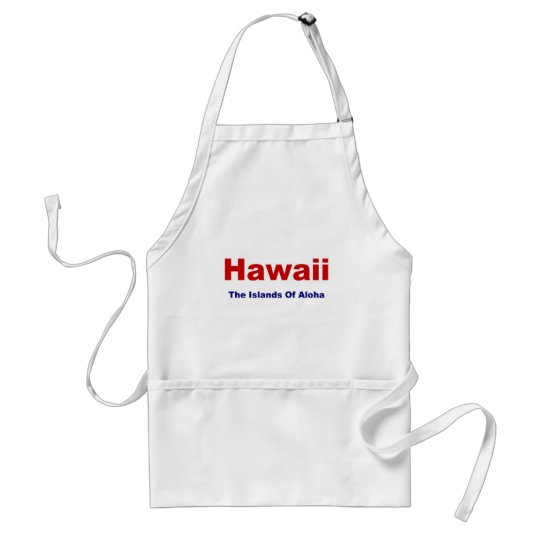 Hawaii-Islands of Aloha Adult Apron