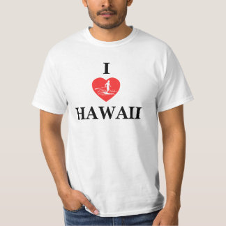 Hawaii Islands Stand Up Paddle T-Shirt
