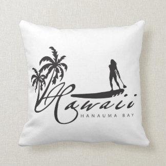 Hawaii Islands Surfing Pillows