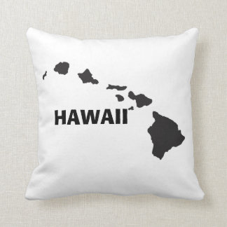 Hawaii Islands Throw Pillows
