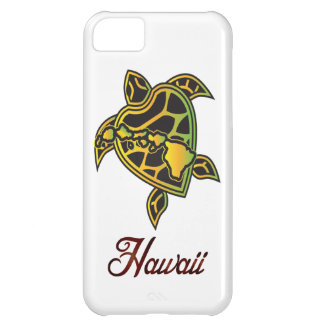 Hawaii Islands Turtle Case For iPhone 5C