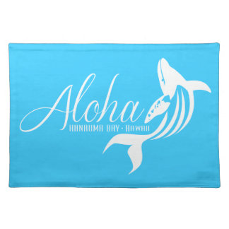 Hawaii Islands- Whale Placemat
