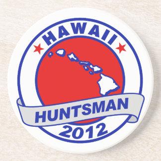 Hawaii Jon Huntsman Drink Coasters