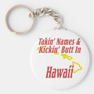 Hawaii - Kickin' Butt Keychain