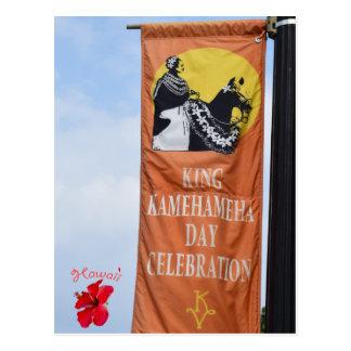 Hawaii King Kamehameha Parade 100th Anniversary Postcard
