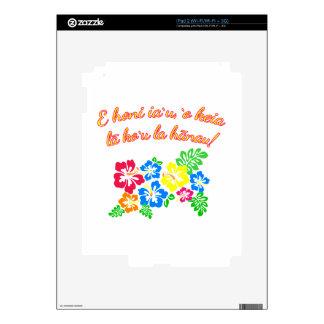 HAWAII Kiss Me It's My Birthday in Hawaiian Skin For The iPad 2