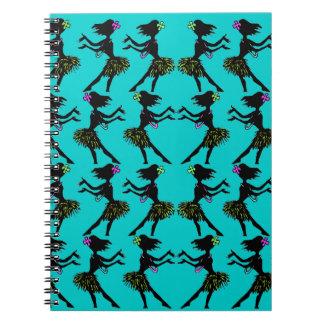 Hawaii Lai Hula Girl trip Travel Notebook Diary