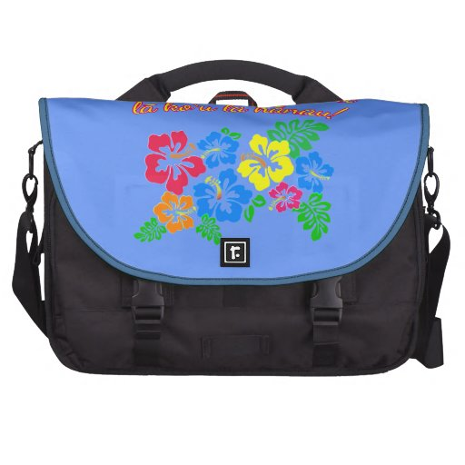 HAWAII Language Kiss Me It's My Birthday Laptop Bag