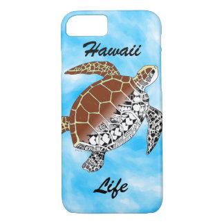 Hawaii Life with Sea Turtle Tribal iPhone 7 Case