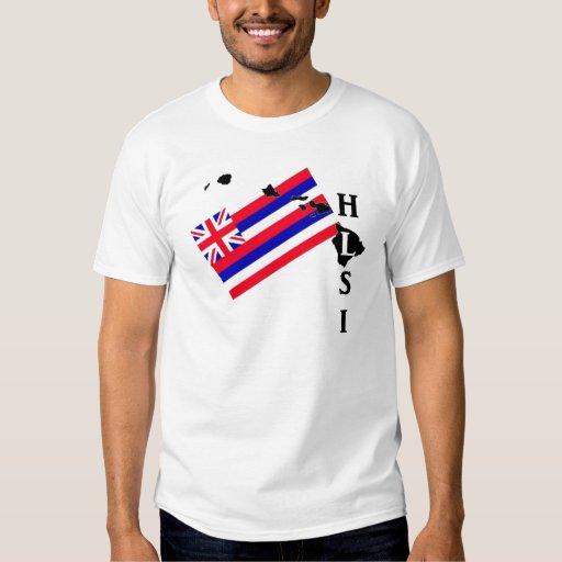 Hawaii Lifeguard Surf- HI State Flag Tee