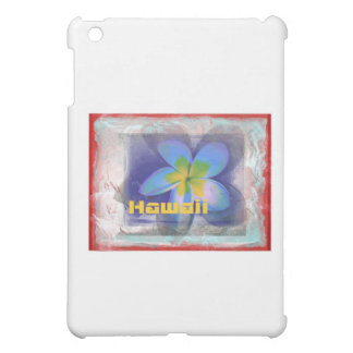Hawaii Limited Edition Blue Floral Cover For The iPad Mini