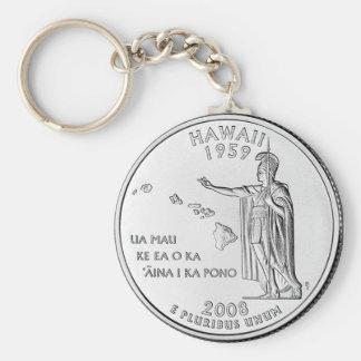 Hawaii Llavero Redondo Tipo Pin