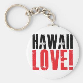 Hawaii Love Keychain