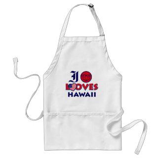 Hawaii Lovers design Adult Apron