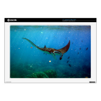 Hawaii Manta Ray Decal For Laptop