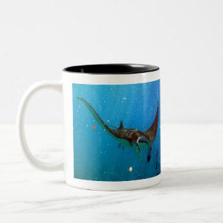 Hawaii Manta Ray Two-Tone Coffee Mug