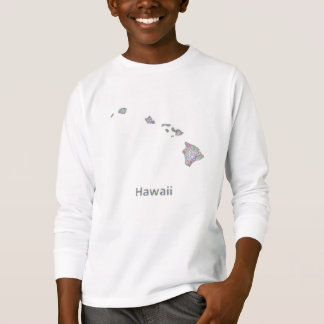Hawaii map T-Shirt