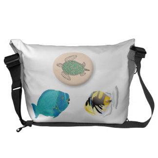 Hawaii Marine Life Courier Bag