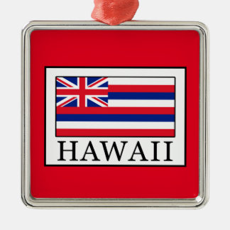 Hawaii Metal Ornament