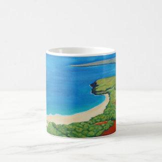 Hawaii Molokai Landscape Art Mug