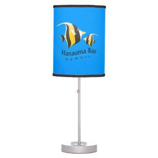 Hawaii Moorish Idol Fish Desk Lamp