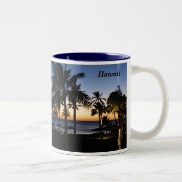 Hawaiian Themed Hawaii Mug